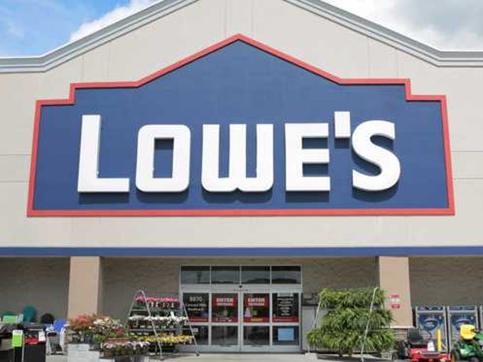 A Lowe's store.