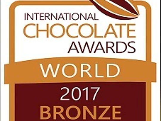 Castronovo Chocolate's Signature Collection Nicalizo, Nicaragua 70% Dark Chocolate takes home bronze award at the International Chocolate Awards World Finals.
