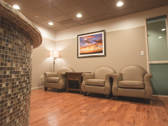 The interior of the Women's Imaging Center at MountainView has a relaxed atmosphere and was opened April 10.