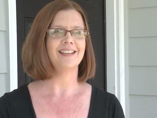Dena Everman said strangers moved into her home in