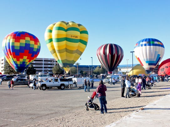 The Mesquite Balloon Festival will run from Jan. 20