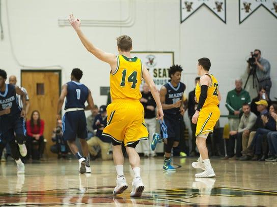 Maine vs. Vermont Men's Basketball 03/02/16