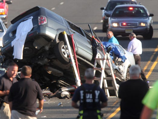 Three Dead In Freehold Twp Crash