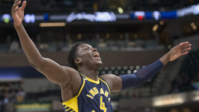 Victor Oladipo scored 23 points for Indiana in his return from injury