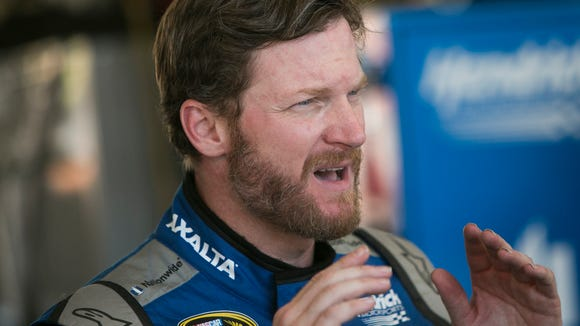 USP NASCAR: EARNHARDT RETURN A USA AZ