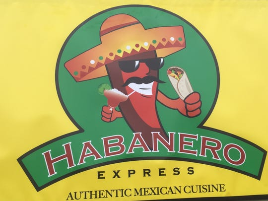Habanero Express sign in Henderson on South Green Street.