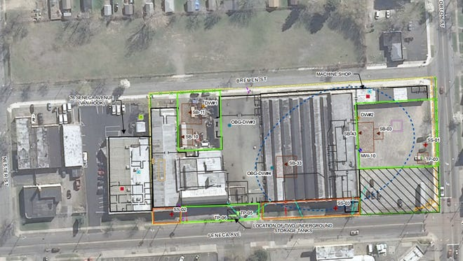 The state Department of Environmental Conservation has proposed a cleanup plan for a brownfield at 24 Seneca Avenue.