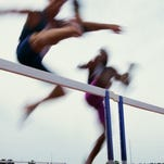 District 3 track & field championships, May 20