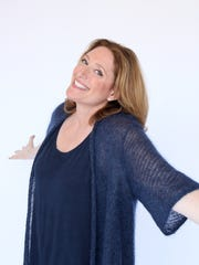 """Judy Gold performs with Bruce Vilanch in the """"Big and Tall"""" comedy show Sept. 28 at the White Plains Performing Arts Center."""