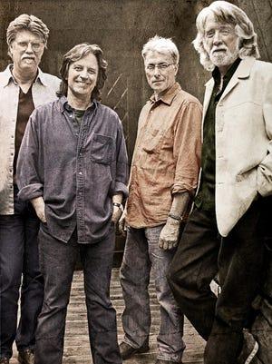 Jeff Hanna, Jimmie Fadden, Bob Carpenter and John McEuen of the Nitty Gritty Dirt Band