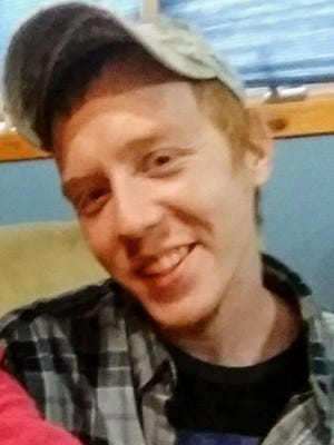 Luke Holm-Hansen's family and state police aren't sure why he jumped from a moving van on I-65 Friday and tried to scurry across the highway on his hands and knees.