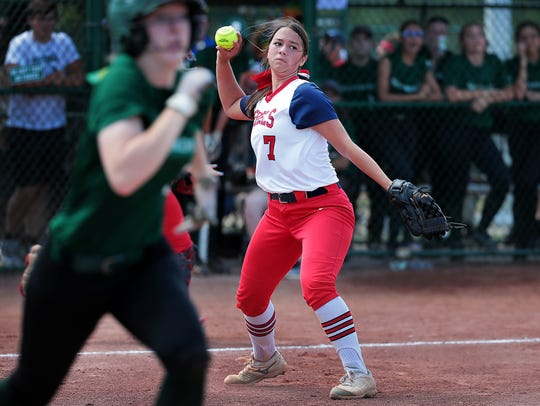Tipton-Rosemark's Rachel Whitley is a TSCA all-state selection.