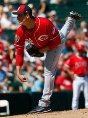 Injuries to Anthony DeSclafani and Brandon Finnegan left the Reds with one healthy veteran starter as the got ready to open the season: Homer Bailey.