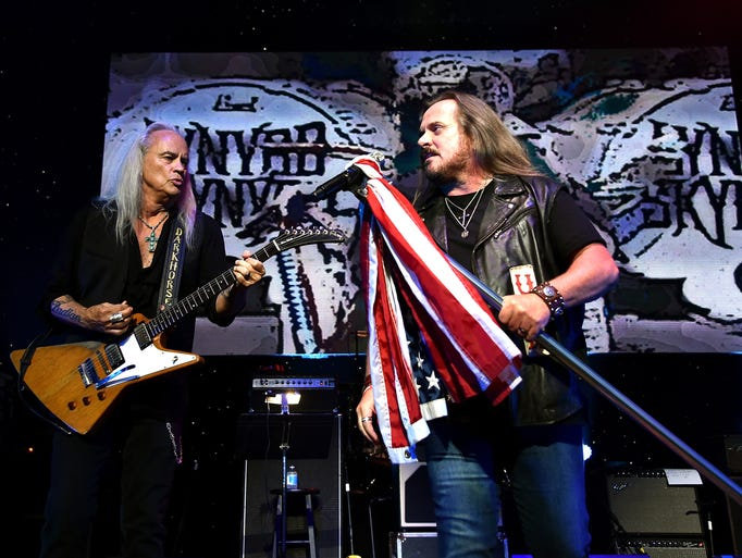 Rickey Medlocke and Johnny Van Zant of Lynyrd Skynyrd
