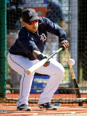 Detroit Tigers shortstop Jose Iglesias.