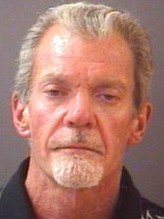 Booking mug of Indianapolis Colts owner Jim Irsay, arrested on March 16, 2014 in Carmel.