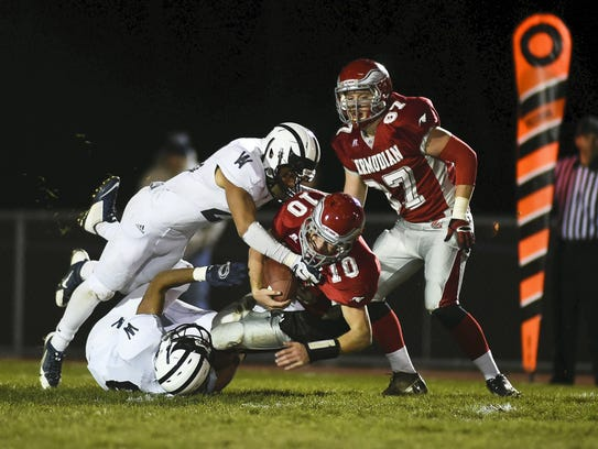 Bermudian Springs has lost three playoff games to Wyomissing