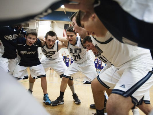 Brattleboro vs. Burlington Boys Basketball 12/19/15