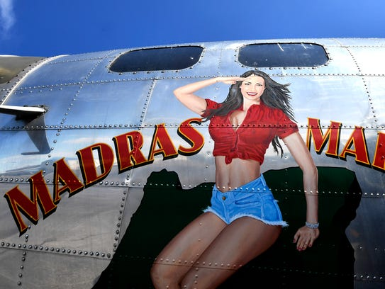 One of the last remaining B-17 World War II-era planes
