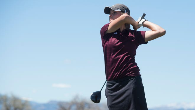 Sarah Johnson and the Windsor girls golf team qualified for the state tournament Monday.