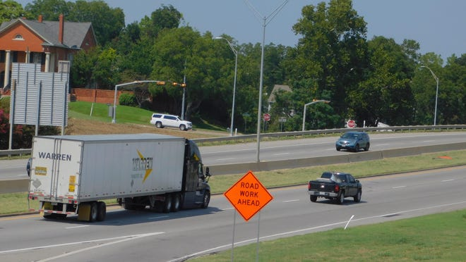 Construction will continue on U.S. Highway 75 Sherman this week.