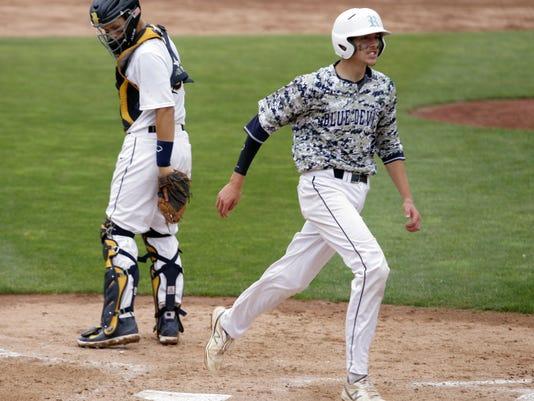 DeWitt vs Richmond State Semifinal Baseball