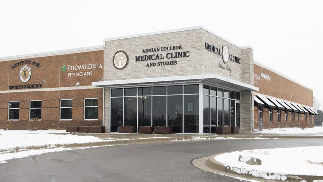 The Student Health Center at Adrian College is pictured. The college has announced it plans for a safe return to campus for the spring semester.