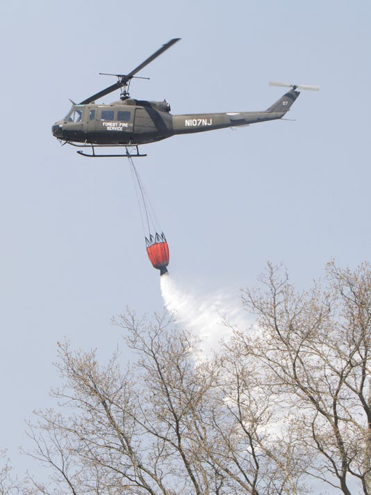 Forest Fire Service helicopter