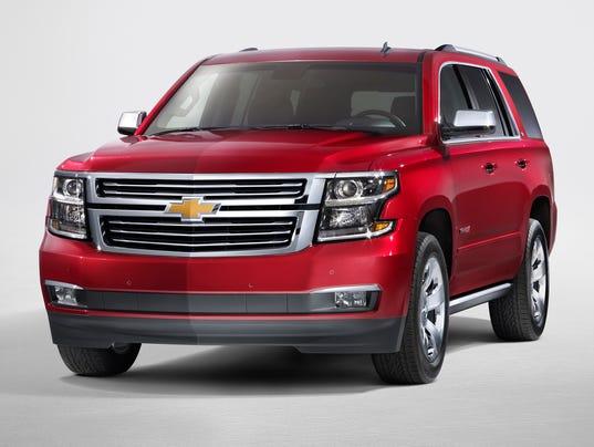 GM shows new, big Tahoes, Suburbans, Yukons