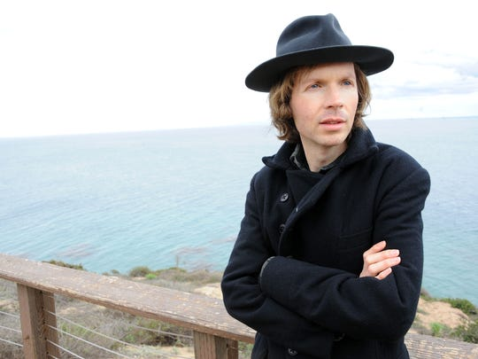 Beck grew up in Southern California.