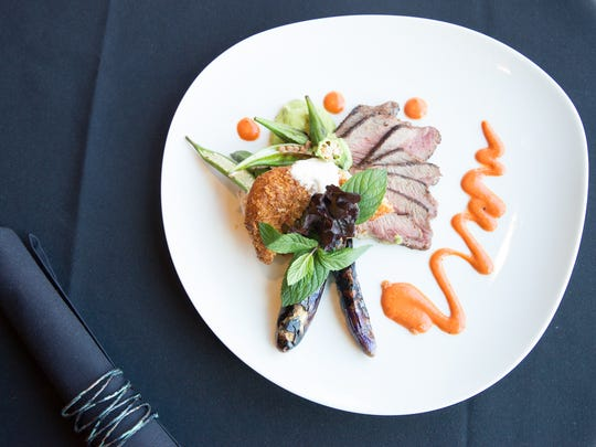 The lamb entree at etc., Deb Paquette's new restaurant in Green Hills.