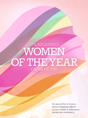 Enquirer's Women of the Year.