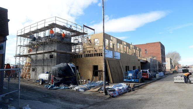 Construction is coming along well at the Great Falls Rescue Mission's Cameron Family Center on 2nd Avenue South, with families expected to move in by mid-September.