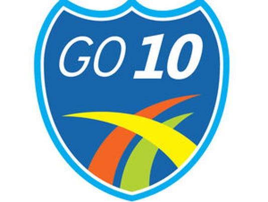 Go 10 logo