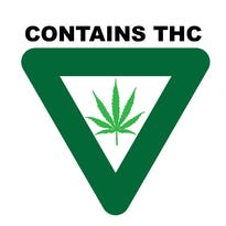 Universal symbol — upside-down, green triangle — will grace medical marijuana products