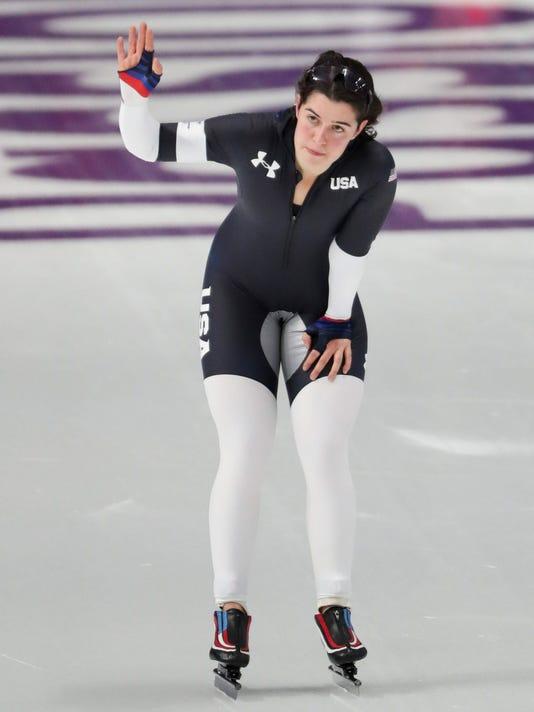 Olympics: Speed Skating-Womens 3000m