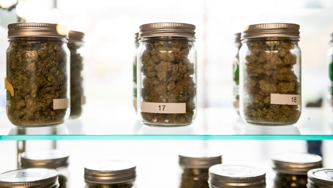 Byron Township, south of Grand Rapids, has an ordinance that bars registered caregivers from growing marijuana at a commercial property. The state appeals court said the ordinance conflicts with Michigan's medical marijuana law.