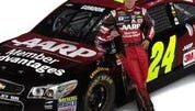 AARP will sponsor Jeff Gordon's Chevrolet SS.