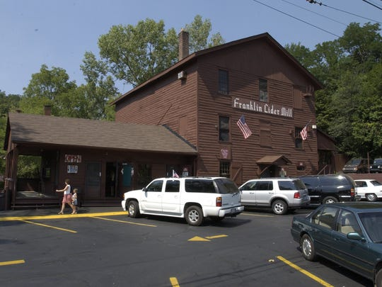 The Franklin Cider Mill traditionally opens on Labor Day weekend.