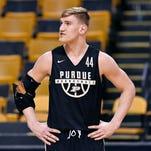 Purdue NCAA Tournament Thursday practice