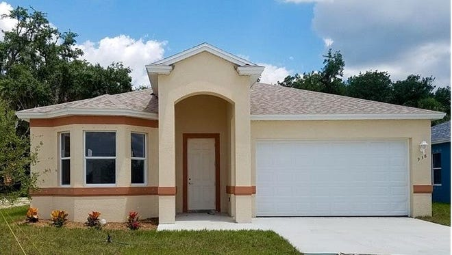The Paraiso design, now under construction at Arrowhead Reserve, is a three-bedroom, two-bath home.