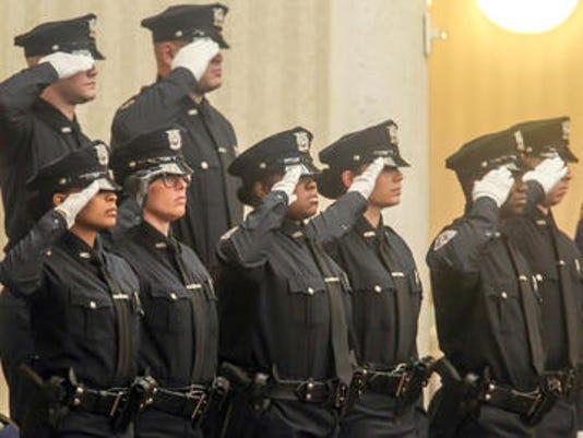 97th Police Academy Graduation Ceremony