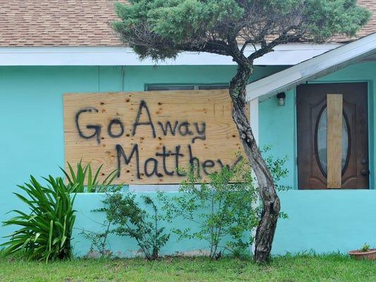 USP NEWS: HURRICANE MATTHEW A USA FL