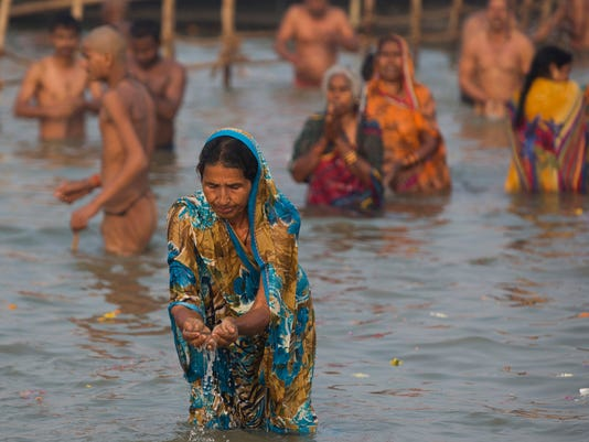 AP APTOPIX INDIA HINDU FESTIVAL I IND