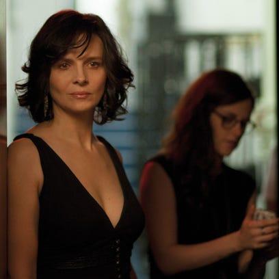 Juliette Binoche and Kristen Stewart appear in a scene
