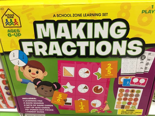 Two-thirds of us aren't going to be playing Making Fractions.