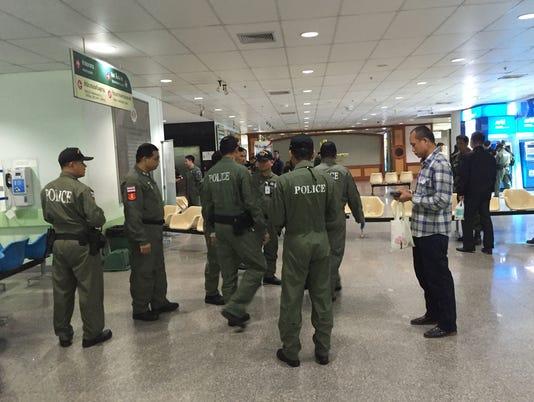 AP THAILAND HOSPITAL BOMB I THA