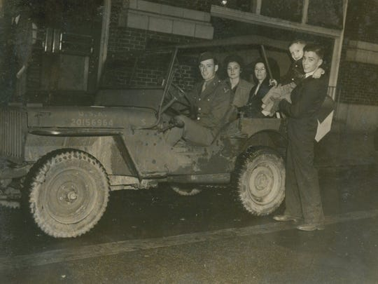 Six-year-old Billy Michal on a jeep tour of New Orleans with his fellow champions.