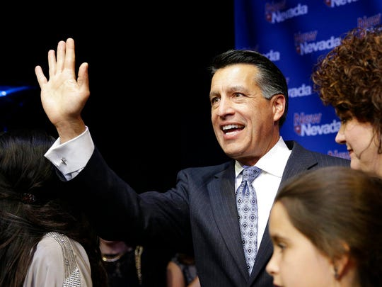 Nevada Gov. Brian Sandoval in 2014.