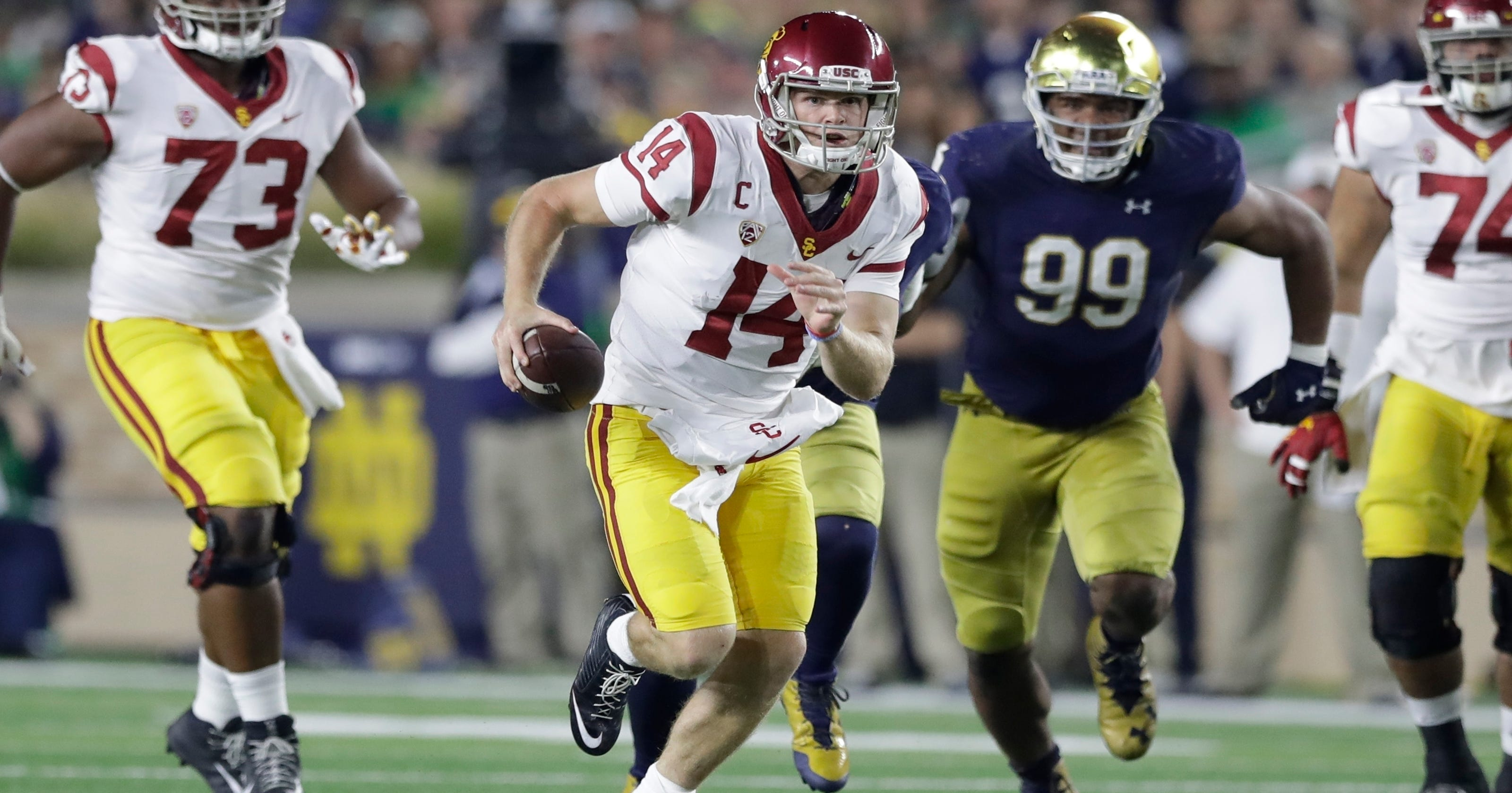 USC quarterback Sam Darnold denies plan to pass on NFL if Cleveland Browns  get No. 1 pick d72ea6085